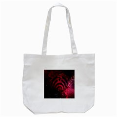 Bassnectar Galaxy Nebula Tote Bag (white) by Onesevenart