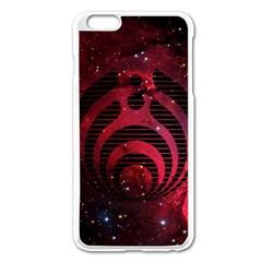 Bassnectar Galaxy Nebula Apple Iphone 6 Plus/6s Plus Enamel White Case by Onesevenart