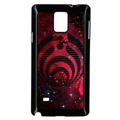 Bassnectar Galaxy Nebula Samsung Galaxy Note 4 Case (black) by Onesevenart