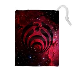 Bassnectar Galaxy Nebula Drawstring Pouches (extra Large) by Onesevenart