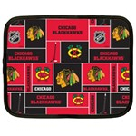 Chicago Blackhawks Nhl Block Fleece Fabric Netbook Case (XXL)