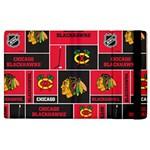 Chicago Blackhawks Nhl Block Fleece Fabric Apple iPad 2 Flip Case