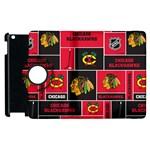 Chicago Blackhawks Nhl Block Fleece Fabric Apple iPad 2 Flip 360 Case