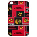 Chicago Blackhawks Nhl Block Fleece Fabric Samsung Galaxy Tab 3 (8 ) T3100 Hardshell Case