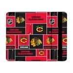 Chicago Blackhawks Nhl Block Fleece Fabric Samsung Galaxy Tab Pro 8.4  Flip Case