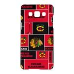 Chicago Blackhawks Nhl Block Fleece Fabric Samsung Galaxy A5 Hardshell Case