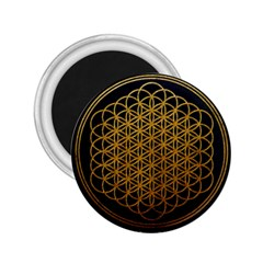 Bring Me The Horizon Cover Album Gold 2 25  Magnets by Onesevenart