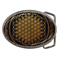 Bring Me The Horizon Cover Album Gold Belt Buckles by Onesevenart