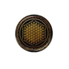 Bring Me The Horizon Cover Album Gold Hat Clip Ball Marker (10 Pack) by Onesevenart