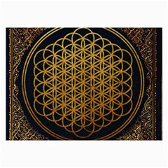Bring Me The Horizon Cover Album Gold Collage Prints by Onesevenart