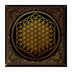 Bring Me The Horizon Cover Album Gold Medium Glasses Cloth (2 Side) by Onesevenart
