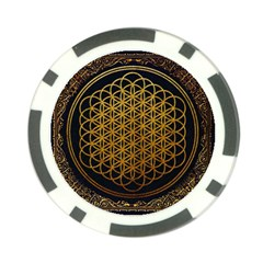 Bring Me The Horizon Cover Album Gold Poker Chip Card Guards (10 Pack)  by Onesevenart