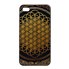 Bring Me The Horizon Cover Album Gold Apple Iphone 4/4s Seamless Case (black) by Onesevenart