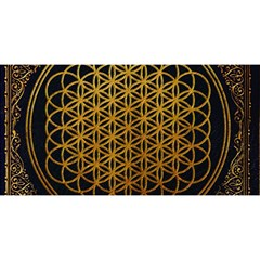 Bring Me The Horizon Cover Album Gold You Are Invited 3d Greeting Card (8x4) by Onesevenart
