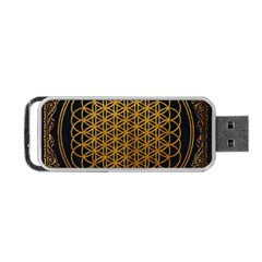 Bring Me The Horizon Cover Album Gold Portable Usb Flash (one Side) by Onesevenart