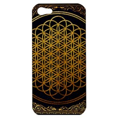 Bring Me The Horizon Cover Album Gold Apple Iphone 5 Hardshell Case by Onesevenart