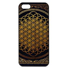 Bring Me The Horizon Cover Album Gold Apple Iphone 5 Seamless Case (black) by Onesevenart