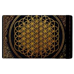 Bring Me The Horizon Cover Album Gold Apple Ipad 3/4 Flip Case by Onesevenart