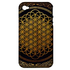 Bring Me The Horizon Cover Album Gold Apple Iphone 4/4s Hardshell Case (pc+silicone) by Onesevenart