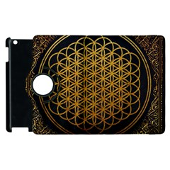 Bring Me The Horizon Cover Album Gold Apple Ipad 3/4 Flip 360 Case by Onesevenart