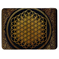 Bring Me The Horizon Cover Album Gold Samsung Galaxy Tab 7  P1000 Flip Case by Onesevenart