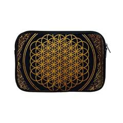 Bring Me The Horizon Cover Album Gold Apple Ipad Mini Zipper Cases by Onesevenart