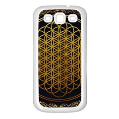 Bring Me The Horizon Cover Album Gold Samsung Galaxy S3 Back Case (white) by Onesevenart