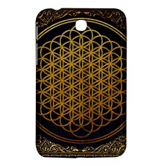 Bring Me The Horizon Cover Album Gold Samsung Galaxy Tab 3 (7 ) P3200 Hardshell Case  by Onesevenart