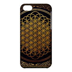 Bring Me The Horizon Cover Album Gold Apple Iphone 5c Hardshell Case by Onesevenart