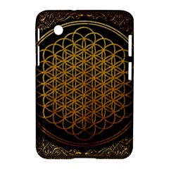 Bring Me The Horizon Cover Album Gold Samsung Galaxy Tab 2 (7 ) P3100 Hardshell Case  by Onesevenart