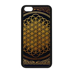 Bring Me The Horizon Cover Album Gold Apple Iphone 5c Seamless Case (black) by Onesevenart