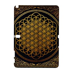 Bring Me The Horizon Cover Album Gold Samsung Galaxy Note 10 1 (p600) Hardshell Case by Onesevenart