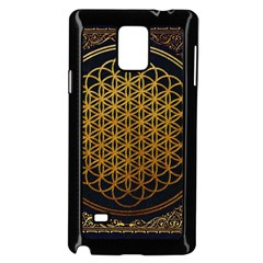 Bring Me The Horizon Cover Album Gold Samsung Galaxy Note 4 Case (black) by Onesevenart