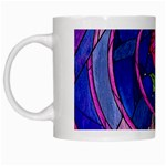 Enchanted Rose Stained Glass White Mugs