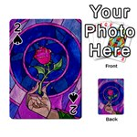 Enchanted Rose Stained Glass Playing Cards 54 Designs