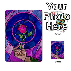 Enchanted Rose Stained Glass Multi Purpose Cards (rectangle)  by Onesevenart