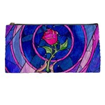 Enchanted Rose Stained Glass Pencil Cases