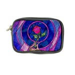 Enchanted Rose Stained Glass Coin Purse