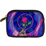 Enchanted Rose Stained Glass Digital Camera Cases
