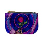 Enchanted Rose Stained Glass Mini Coin Purses