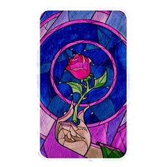 Enchanted Rose Stained Glass Memory Card Reader by Onesevenart