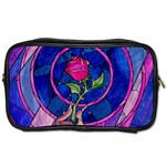 Enchanted Rose Stained Glass Toiletries Bags 2-Side