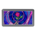 Enchanted Rose Stained Glass Memory Card Reader (Mini)