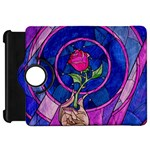 Enchanted Rose Stained Glass Kindle Fire HD Flip 360 Case