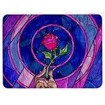 Enchanted Rose Stained Glass Samsung Galaxy Tab 7  P1000 Flip Case