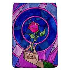 Enchanted Rose Stained Glass Flap Covers (l)  by Onesevenart