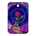 Enchanted Rose Stained Glass Samsung Galaxy Note 8.0 N5100 Hardshell Case