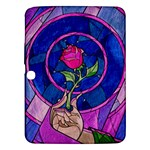Enchanted Rose Stained Glass Samsung Galaxy Tab 3 (10.1 ) P5200 Hardshell Case