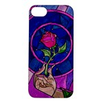Enchanted Rose Stained Glass Apple iPhone 5S/ SE Hardshell Case