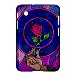 Enchanted Rose Stained Glass Samsung Galaxy Tab 2 (7 ) P3100 Hardshell Case